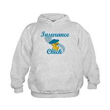 Insurance Chick #3 Hoodie