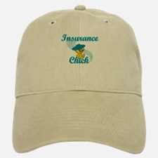 Insurance Chick #3 Baseball Baseball Cap