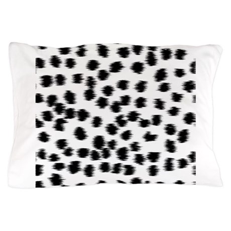 Dalmatian pattern pillow case by metarla2 for White craft pillow cases