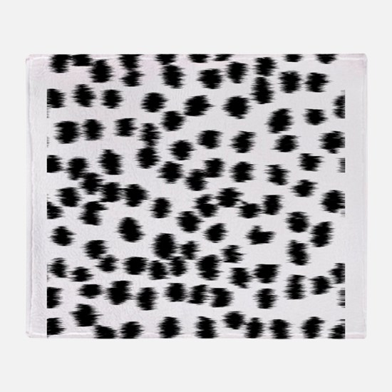 Dalmatian Pattern. Throw Blanket