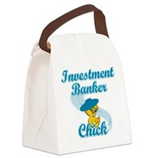 Investment Banker Chick #3 Canvas Lunch Bag