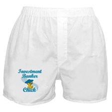 Investment Banker Chick #3 Boxer Shorts