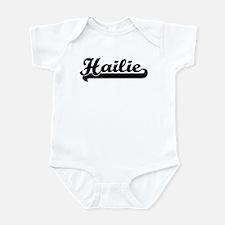 Black jersey: Hailie Infant Bodysuit