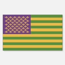 South Acadian Flag Sticker (Rectangle)