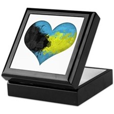 Bahamas Heart Keepsake Box