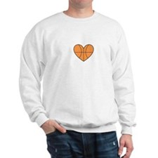 Basketball Heart Sweatshirt