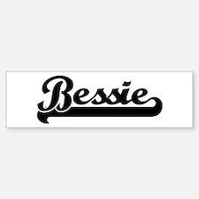 Black jersey: Bessie Bumper Bumper Bumper Sticker