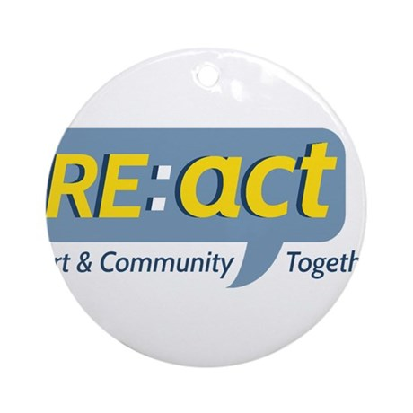 RE:act Art Community Together Ornament (Round)