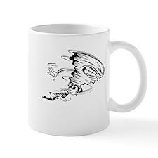 Tornado Football Player Mug