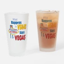 Funny Las vegas Drinking Glass