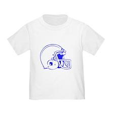 Blue Football Helmet T