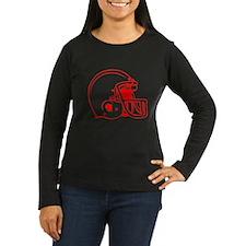 Red Football Helmet T-Shirt