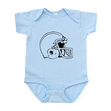 Football Helmet Infant Bodysuit