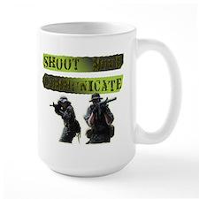 Shoot Move Communicate Mug