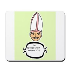 smiley bishop Mousepad