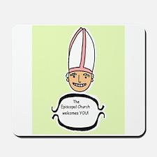 smiley bishop Mousepad