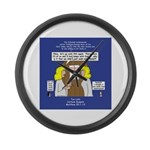 Bridesmaids Large Wall Clock