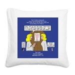 Bridesmaids Square Canvas Pillow