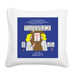 Bridesmaids Square Canvas Pillow
