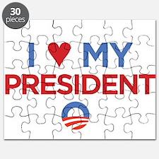 I Heart my President Puzzle