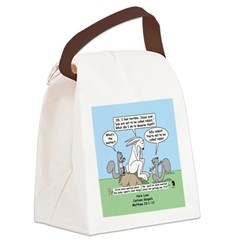 Don't Call me Rabbit Canvas Lunch Bag