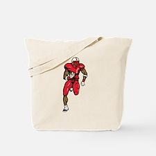 Football Running Back Tote Bag