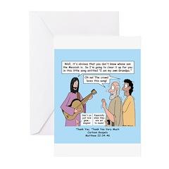 Jesus Sings Greeting Cards (Pk of 10)