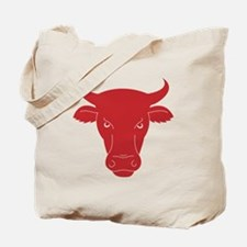 The head of a bull Tote Bag