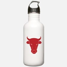 The head of a bull Water Bottle