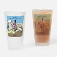 Grand Entrance Drinking Glass