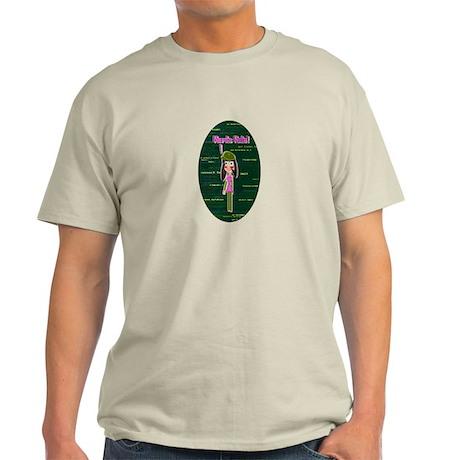 Programmer Girl - Nerds Rule! Light T-Shirt