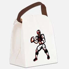 Quarterback Canvas Lunch Bag