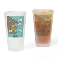 Greedy Servant Parable Drinking Glass