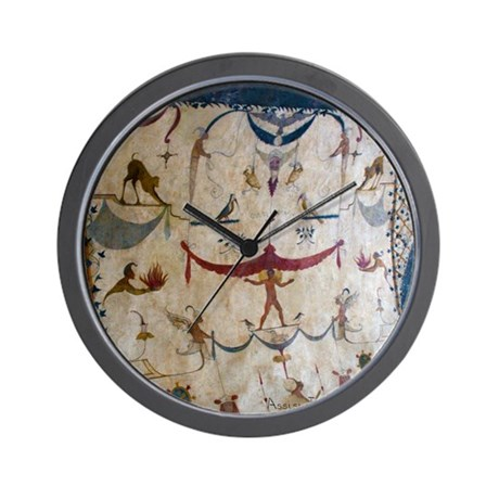 The Judgement - Assisi Italy Fresco Wall Clock
