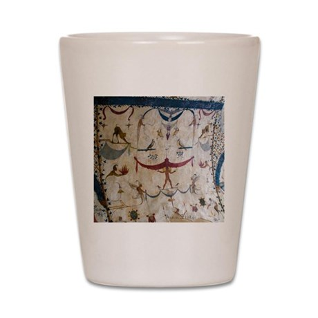 The Judgement - Assisi Italy Fresco Shot Glass