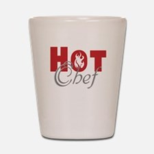 Hot Chef Shot Glass