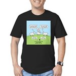 Lost Sheep of Israel Men's Fitted T-Shirt (dark)