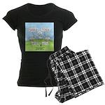 Lost Sheep of Israel Women's Dark Pajamas