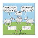Lost Sheep of Israel Tile Coaster