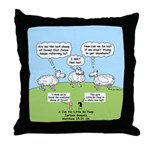 Lost Sheep of Israel Throw Pillow