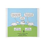 Lost Sheep of Israel Throw Blanket