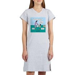 Peter Walking on Water Women's Nightshirt