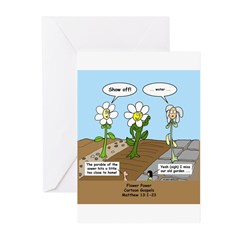Flower Power Greeting Cards (Pk of 20)