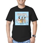 Eye for an Eye? Men's Fitted T-Shirt (dark)