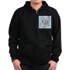Eye for an Eye? Zip Hoodie