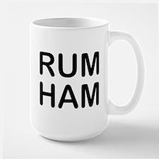 Rum Ham Large Mug
