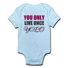 yolo Infant Bodysuit