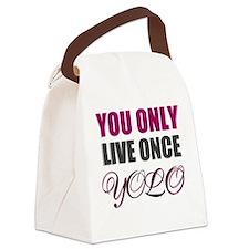 yolo Canvas Lunch Bag