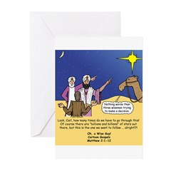 Follow THAT Star Greeting Cards (Pk of 20)