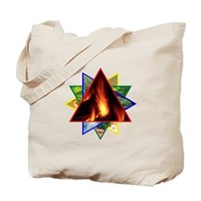 Fire Element Star Tote Bag